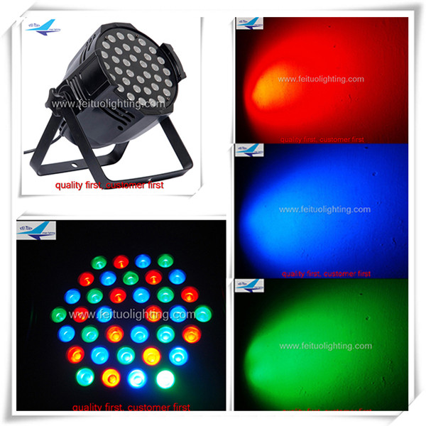 36*3W rgb par light or led par 64 rgb dmx stage lighting eurolite led par 64 rgb 36x3w short silver