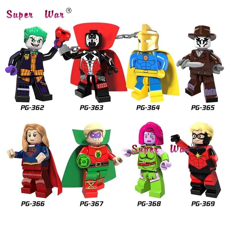 Blocks 2019 Fashion Single Star Wars Super Heroes Marvel Dc Comics Mandalorian Building Blocks Models Bricks Toys For Children Kits Toys & Hobbies