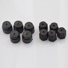 10 pçs/set r134a 13mm & 16mm ar condicionado serviço ac sistema de carregamento porta tampas para carro universal ar condicionado