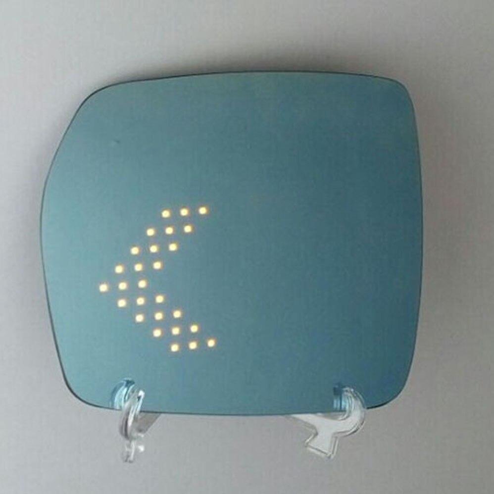 Pièces extérieures pour ford edge out rétroviseur de porte latérale empêcher éblouissement bleu grand angle LED flèche clignotant chaleur Demist