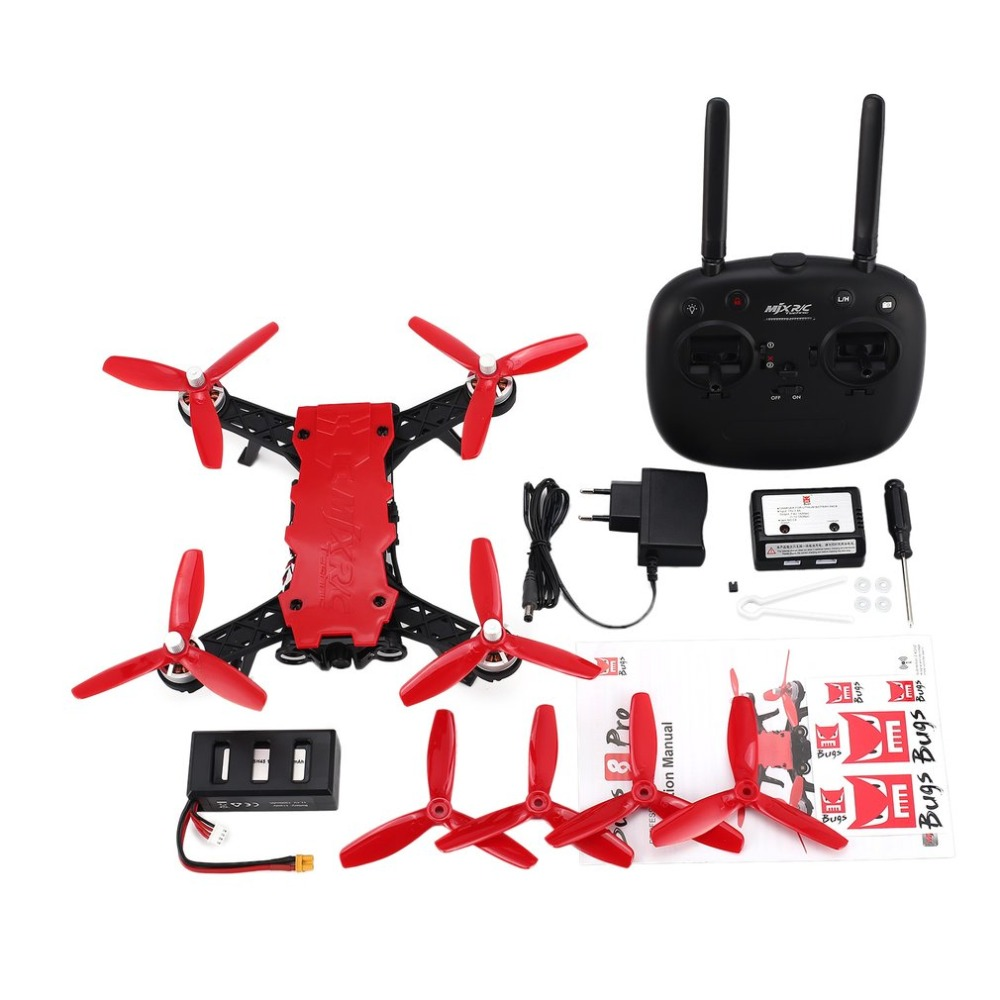 MJX Bugs 8 Pro B8 PRO Brushless Motor RC Racing Drone Quadcopter UAV with 5.8G HD 720P FPV Real-Time Camera High Speed Drone Toy sabian 18 b8 pro chinese