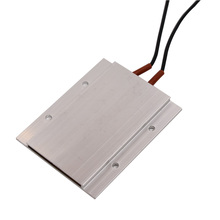 2PCS/LOT 77x62x6mm PTC Heating Element 220V Heater Thermostat Aluminum Shell Ceramic Heater Heating Plate