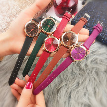 купить Fashion Women Leather Band Dress Quartz Wrist Watches Luxury Top Brand White Casual Ladies Wristwatch Relogio Feminino по цене 460.48 рублей