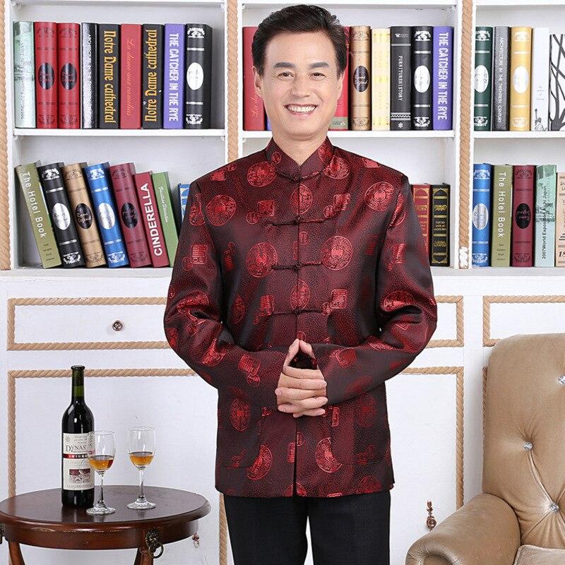 Amoureux robe longévité mariage traditionnel Chinois costume collier Dragon hommes vêtements ethniques vêtements folkloriques Blouse Style Chinois