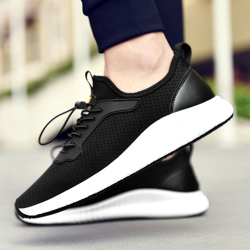 Factory direct summer mens shoes breathable Korean trend wild board shoes sports shoes