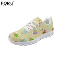 c5a16827d FORUDESIGNS Ice Cream 3D Print Women s Shoes Summer Classic Casual Women  Sneakers Shoes Woman Super Light