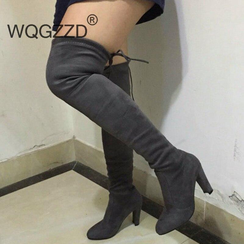 Online Get Cheap Tall Suede Boots for Women -Aliexpress.com ...