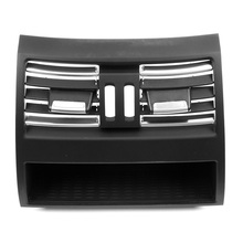 Air Conditioning Vent Outlet Rear Center Console Fresh Air Outlet Vent Grille Cover for BMW 5 F10 F18 Auto Accessories Part new accessories for bmw 5 series f10 f18 520i 2011 2014 air vent outlet cover trim 13 pcs set
