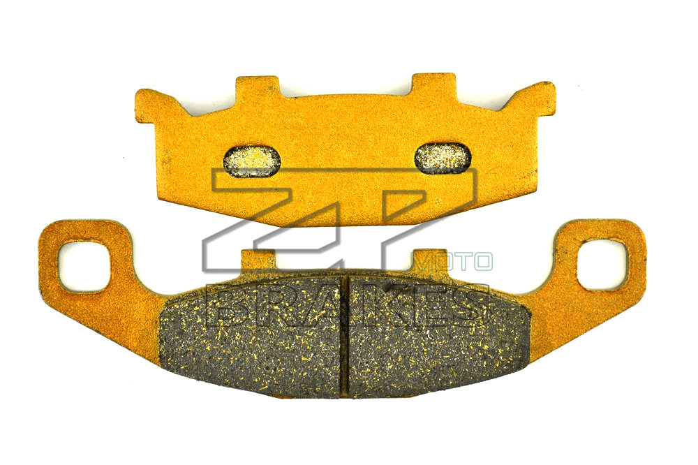 New Brake Pads Organic For SUZUKI GPZ 900 R (ZX900A/D363) 1990- GPX 400 1987- Rear Motorcycle BRAKING OEM Free Shipping