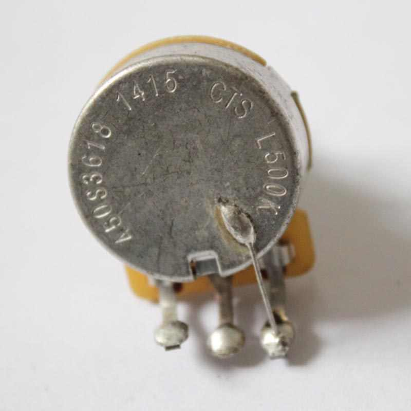 CTS POTS Log A or Linear 500k Volume Tone Potentiometers Electric Guitars