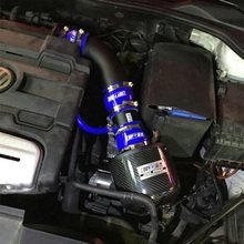 Высокое качество, высокая мощность потока, впускной воздушный фильтр, фильтр из углеродного волокна, Система впуска для Volkswagen Scirocco 1,4 T 2,0 T 2009