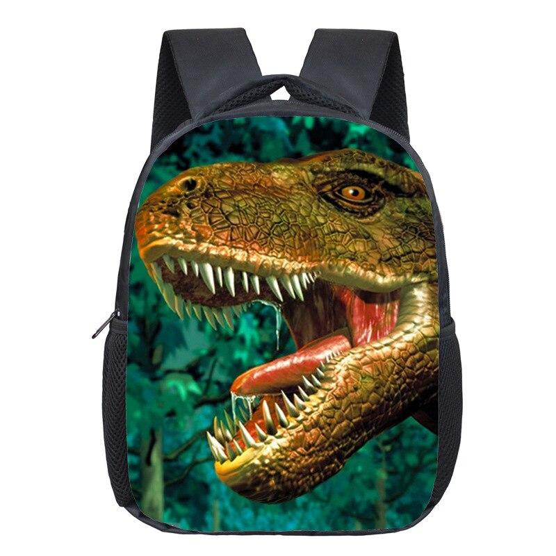Dinosaur Magic Dragon Backpack For Kids Animals Backpacks Kids Schoolbags Boys Girls School Bags Daily Backpack Book Bag