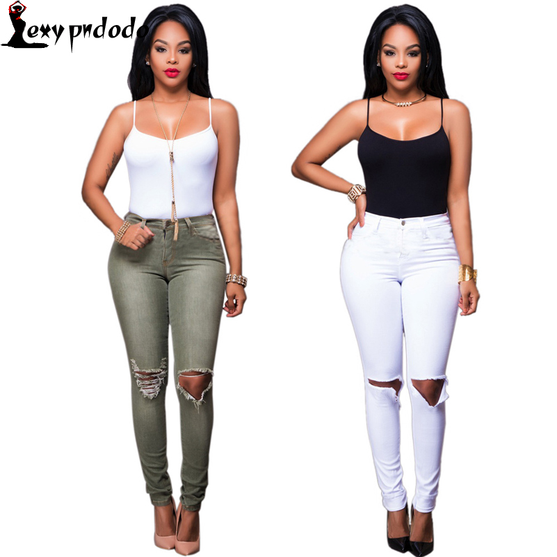 Sexy Spaghetti White Backless + Hole Jeans 2PC Set Womens Suits Casual Women Two Piece Set Zipper Outfits miley cyrus costume VS