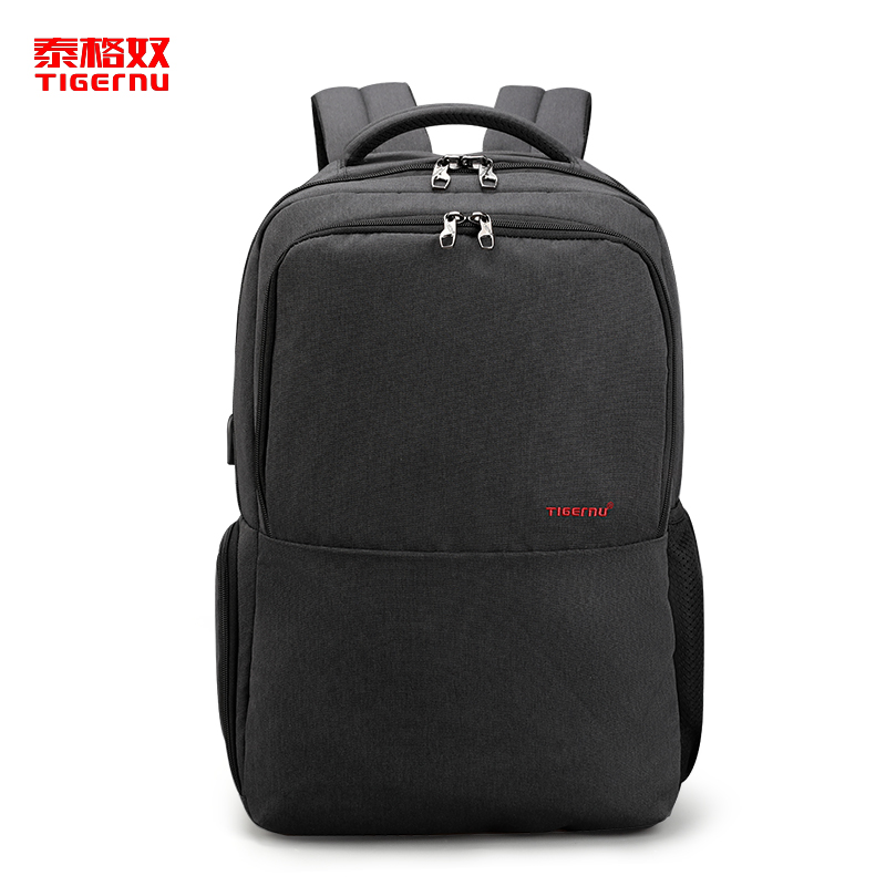Tigernu 2018 New Arrival Anti-theft USB Charging waterproof Multifunction Laptop Computer Backpack School Casual Bags mochila 2017 new arrival leather backpack casual bags