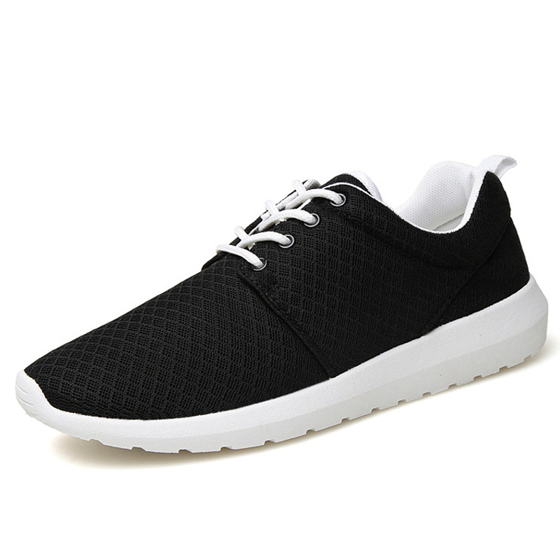 Men sports running Shoes 2017 Summer Latest Trend Air Breathable Sneaker Lacing Man Jogging Flat Shoes
