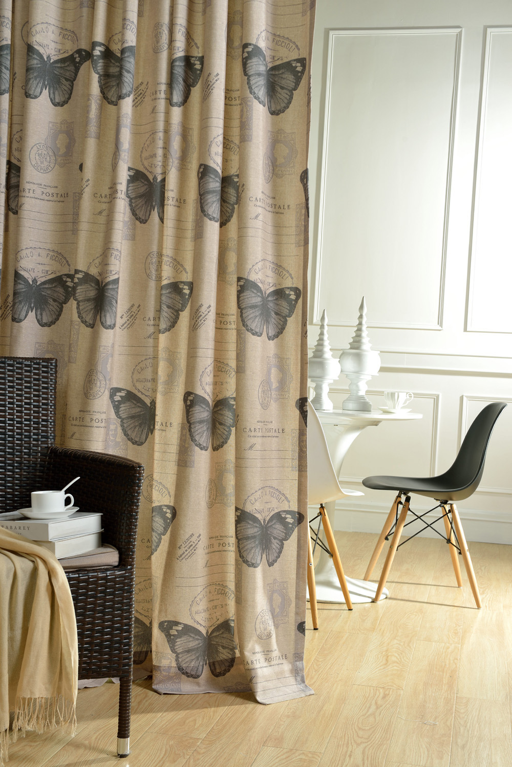 Modern Curtains Designs 2015 Us 19 89 2015 High Quality Butterfly Letter Print Curtain Modern Living Room Draperies Window Curtains In Curtains From Home Garden On
