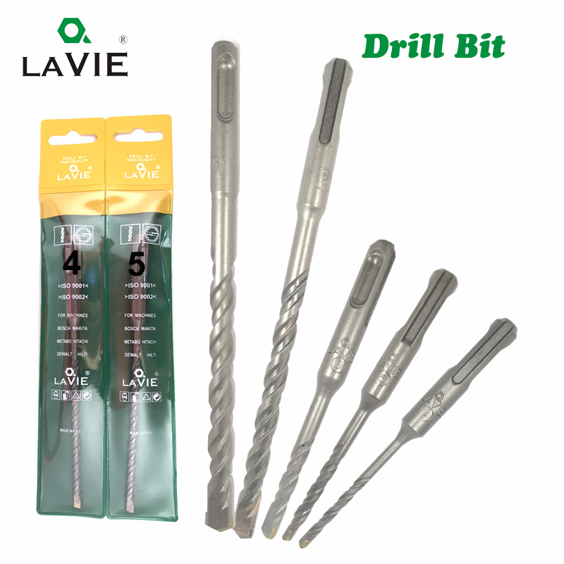 LAVIE 1pc 4 5 6 7 8 10 12 SDS Plus Hole Saw Drilling 110mm 160mm Electric Hammer Drill Bits For Wall Concrete Brick Masonry Bit