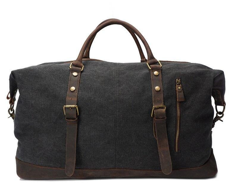 Nesitu высокое качество Винтаж большой Ёмкость Серый Белый хаки Армейский зеленый холст Для женщин Для мужчин дорожные сумки сумка # M2077