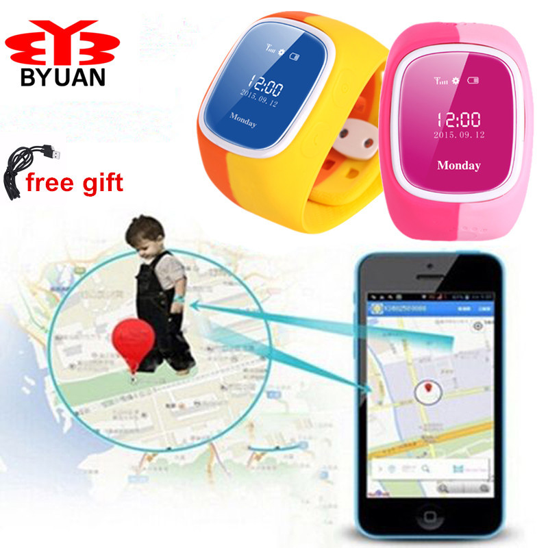 Kids-Gift-Smart-Phone-Watch-GPS-Tracker-Anti-lost-Intercom-SOS-support-SIM-card-Child-Guard