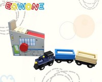Wooden Railway Pack New Yankee Workshop Fit Thomas And Brio Wooden Train Educational Boy Kids Toy