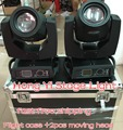 Free shipping 2pcs/lot with flight case beam 200 moving head light 200w 5r beam dmx stage  light for show disco light