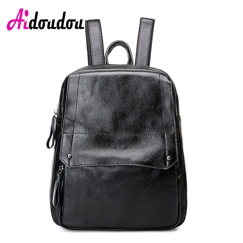 AIDOUDOU BRAND Special Simple Backapck Women Invisible Outer Bag Mochilas Escolares Para Adolescentes School Bags For