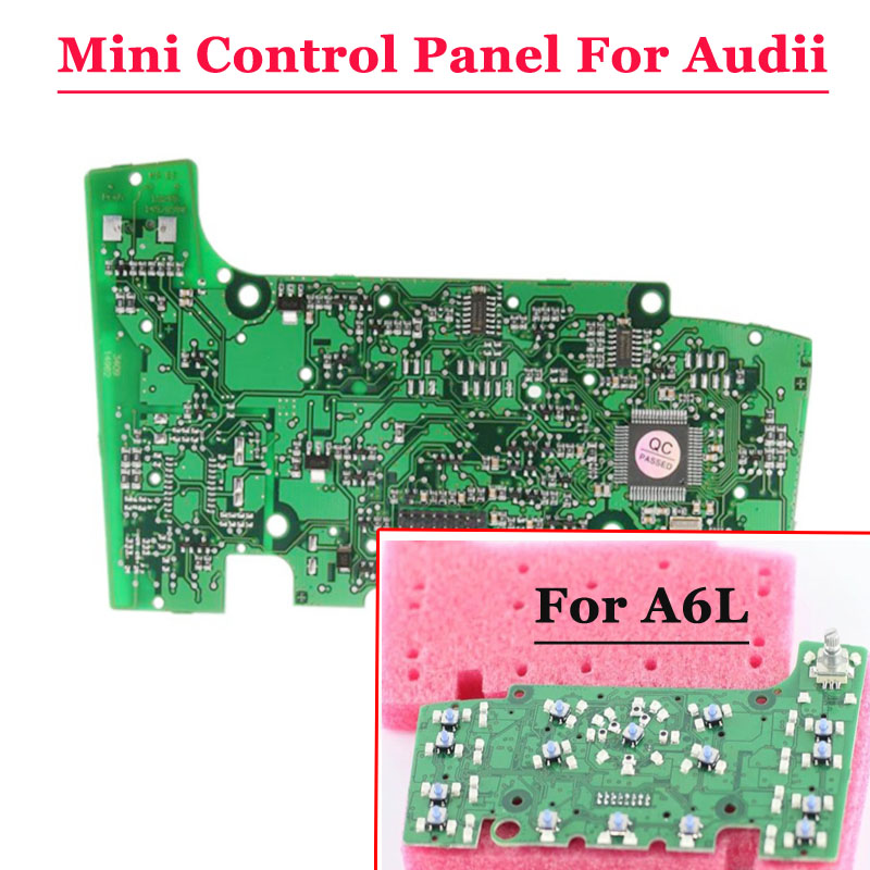 Free shipping New Multimedia Mini Control Panel Circuit Board With Navigation Fit For Audi A6 S6 Quattro S6 C6  Q7