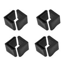 NOCM резиновые Г-образный угол Утюг подушечки лап Чехлы для мангала 10 шт. черный