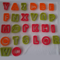 Алфавита 26 Букв и 10 Цифр слизь инструменты Цвет Play Тесто Инструмент Модель Игрушки Творческий Пластилин Инструменты Пластилин Набор Комплект