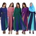 Quente estilo étnico Do Oriente Médio Muçulmano manga comprida vestido tribunal retro roupas Hui vestes longas maxi dress vestidos para muçulmanos
