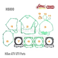 5 HISUN ATV Parts 800 Full Set Gasket HS400 HS500 HS600 HS700 HS800 ATV UTV Gokart Quad Spare engine parts Quality Nihao Motor