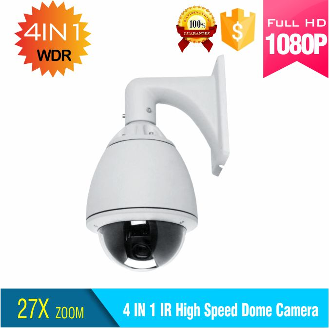 metal housing 2.0MP 4 in 1 27X zoom/pan/tilt high speed dome camera support Coaxial cable control ptz camera social housing in glasgow volume 2