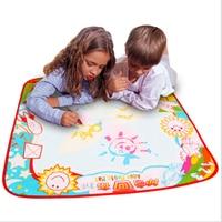 Aqua doodle trẻ em 70x70 cm bé trẻ em thêm nước với 2 cái bút vẽ nguệch ngoạc tranh ảnh vẽ chơi thảm nga board