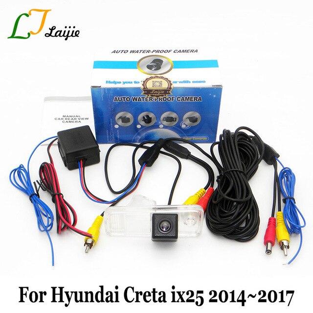 Dành cho Xe Hyundai CRETA iX25 2014 ~ 2016 2017/HD Rộng Góc Ống Kính Camera Phía Sau/CCD Tầm Nhìn Ban Đêm đảo ngược Đậu Xe Máy Ảnh