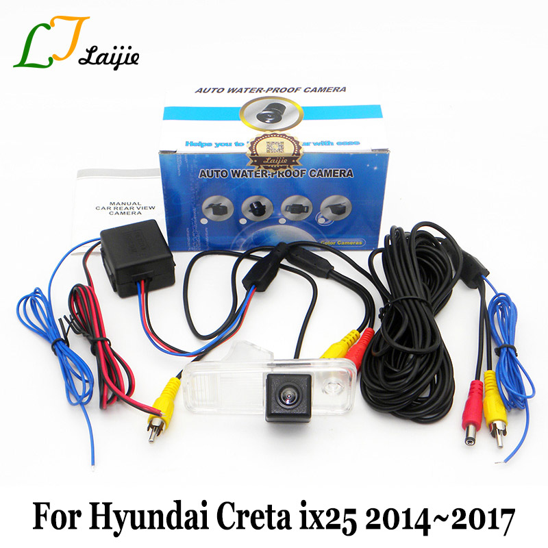Per Hyundai Creta ix25 2014 ~ 2016 2017 / HD Wide Lens Angle Rear View Camera CCD Night Vision Reverse Parcheggio Camera Car Styling