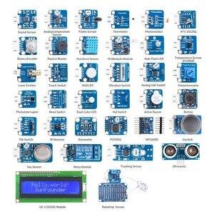 Image 3 - SunFounder Raspberry Pi 3 Modelo B, modelo B + 37 Módulos Kit de V2.0 para RPi 3 B + 2B un + cero