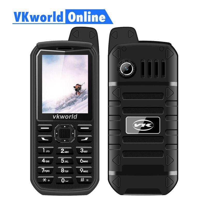 Vkworld New stone V3 Plus Mobile Phone 2G GSM Dual Sim Phones 3000mAh Long Standby 2.4inch IP54 Waterproof Dustproof Cellphone