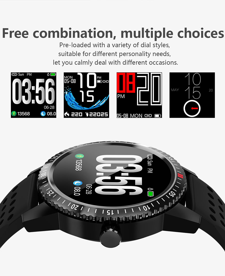 COLMI Smartwatch IP67 Waterproof Wearable Device Heart Rate Monitor Color Display Smart Watch For Android IOS_07