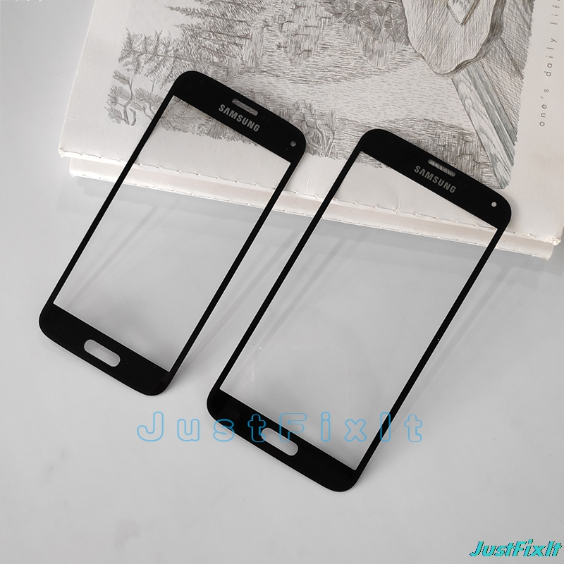 For <font><b>Samsung</b></font> Galaxy S5 G900F G900I S5 Mini <font><b>G800F</b></font> Touchscreen Panel Front Glass Replacement LCD <font><b>Display</b></font> Touch Screen Glass lens image