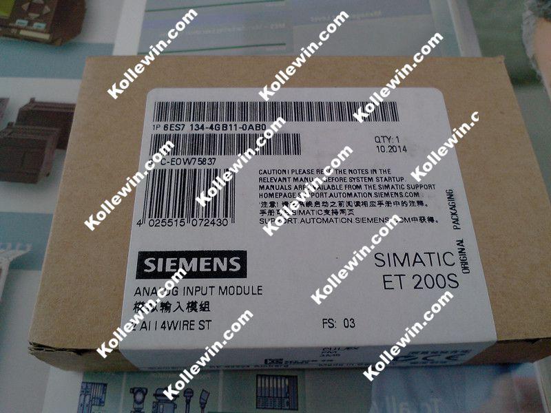 NUOVO originale 6ES7134-4GB11-0AB0, SIMATIC ET 200 S 6ES7 134-4GB11-0AB0, FreeShip Modulo Elettronico 6ES71344GB110AB0, 2 AI STANDNUOVO originale 6ES7134-4GB11-0AB0, SIMATIC ET 200 S 6ES7 134-4GB11-0AB0, FreeShip Modulo Elettronico 6ES71344GB110AB0, 2 AI STAND