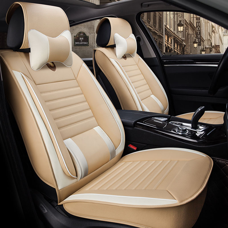 Universal leather car seat cover car seat covers for Lexus GS300 GS350 GS430 GS450h GS250 GS F GS460 GS200t NX300h F NX200t