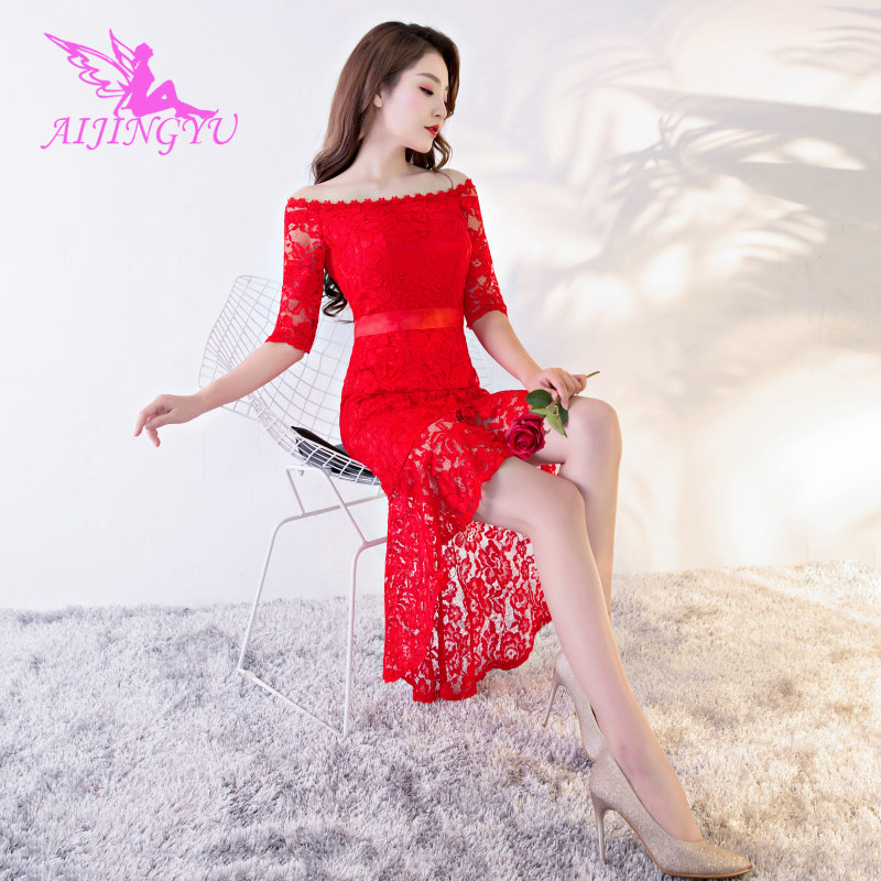 AIJINGYU Evening Dress Party Long Gown 2018 Sexy Women Elegant Formal Special Occasion Dresses Fashion Ball