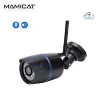 1080P WIFI IP Camera Outdoor Bullet Cam Wireless Cloud Storage Night Vision Two Way Audio Record CCTV Surveillance Cameras daytech wifi ip camera outdoor waterproof cctv 720p 1080p bullet camera motion detection cloud storage app control two way audio