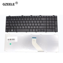 GZEELE Russian Keyboard for Fujitsu Lifebook A530 A531 AH530 AH531 NH751 AH502 RU Black laptop keyboard brand new laptop lcd lvds cable for fujitsu lifebook ah530 a530 ddfh2alc010