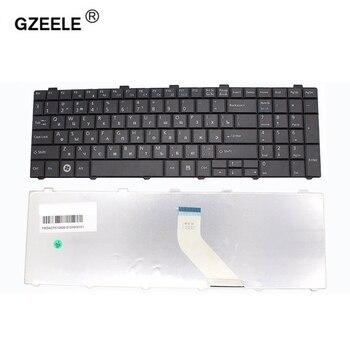 цена на GZEELE Russian Keyboard for Fujitsu Lifebook A530 A531 AH530 AH531 NH751 AH502 RU Black laptop keyboard