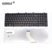 Gzeele teclado russo para fujitsu lifebook a530 a531 ah530 ah531 nh751 ah502 ru preto teclado do portátil|laptop keyboard|ah531 keyboard|fujitsu a530 keyboard -