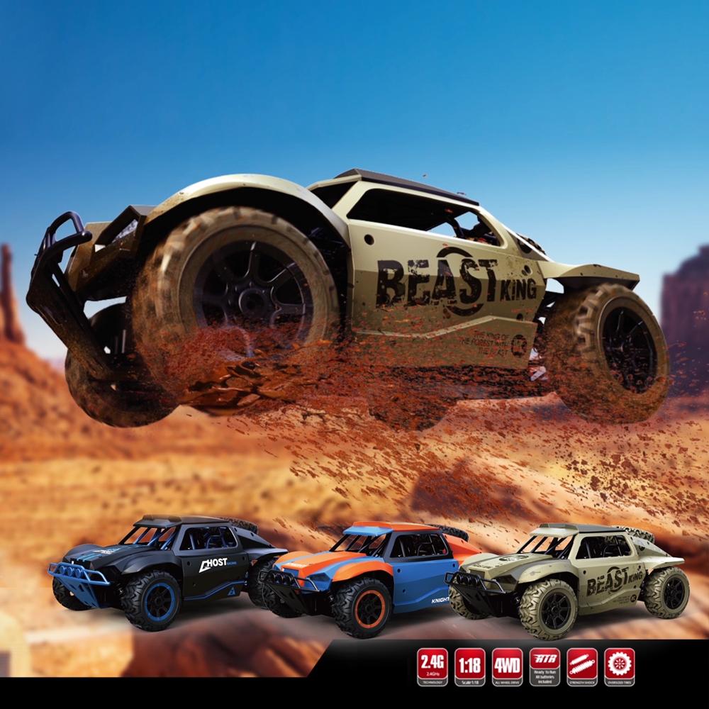 Image 2 - 1/18 RC Car 25hm/h Off road Drift Buggy 2.4GHz Radio Remote Control Racing Car Model Rock Crawler Vehicle Toys xmas gifts-in RC Cars from Toys & Hobbies