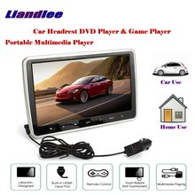 10.1 inch Car Headrest Head Rest Restraints TFT LED Monitor Screen / Portable DVD Player Game Player Back Seat Multimedia System цена