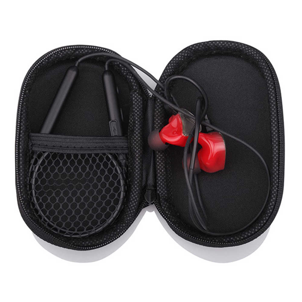 صدمات أكسفورد القماش إيفا سماعة حقيبة المضادة للسقوط صندوق تخزين حقيبة سماعة الاذن كابل بيانات بلوتوث سماعة حقيبة التخزين