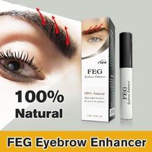 FEG Eyebrow Enhancer 100% Original Rising Eyebrow Growth Serum Eyelash Growth Lipuid Makeup Eyebrow Longer Thicker Cosmetics